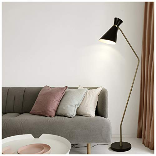 QTDH industriële lamp, verstelbaar, voor bank, lezen, landelijke verlichting voor kantoor, slaapkamer, werkkamer, lamp van aluminium
