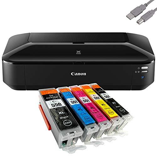 Canon PIXMA iX6850 A3+ Tintenstrahldrucker + 5 komp. Druckerpatronen +USB