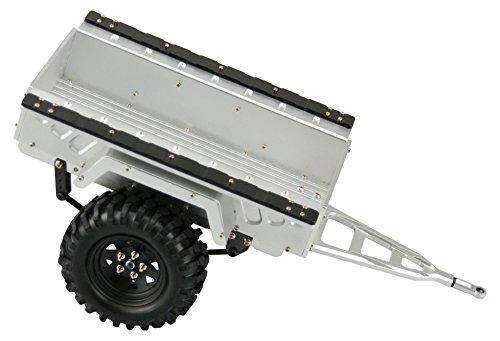 Amewi 22156 Anhänger, CNC Gefräst Fahrzeug AMXrock Anhänger Trailer