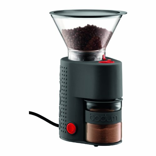 Bodum Bistro Electric Burr Coffee Grinder priced at $85.48