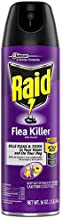 Raid Flea Killer, Kills Fleas, Crickets, Roaches, Silverfish and Ticks, Use in your Home or on your Dog, 16 Oz, Pack of 6