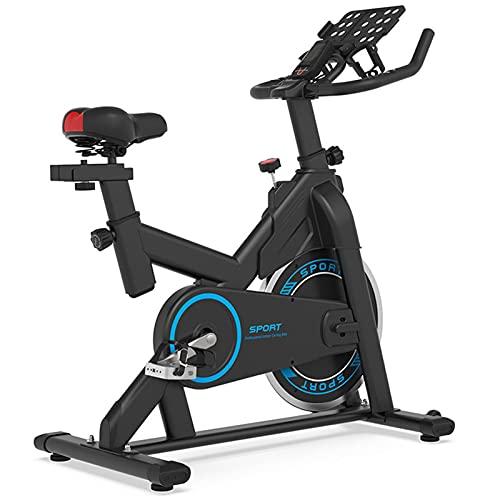 Spinning Bike Bicicleta De Ejercicio para Interiores, Bicicleta Estacionaria Interior del Ejercicio Aeróbico del Gimnasio En Casa, con Soporte para Teléfono Móvil Y Monitor Digital