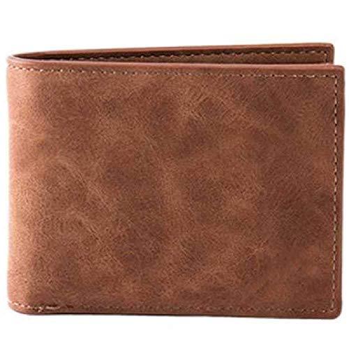 zhuao Fashion lederen portemonnee, portemonnee voor heren, Mini klassieke portemonnee