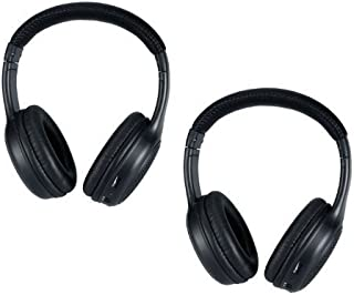 Wireless Headphones for the Infiniti QX DVD Player System - 2 Programmed IR Headsets