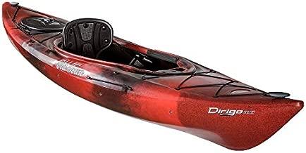 Old Town Dirigo 106 Recreational Kayak, Black Cherry, 10 Feet 6 Inches