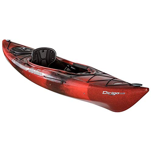 Old Town Canoes & Kayaks Dirigo 106 Recreational Kayak, Black Cherry, 6 Inches, Length 10 ft