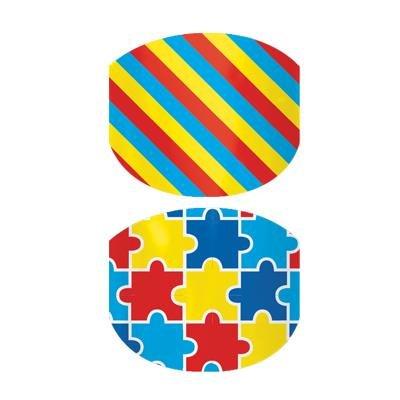 Jamberry Nail Wrap - Autism Awareness Junior (RETIRED)