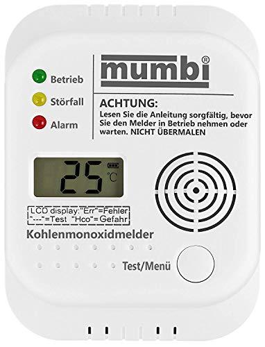 Mini CO Kohlenmonoxidmelder (mit Display) Unterstützt Rauchmelder, Rauchwarnmelder Nicht