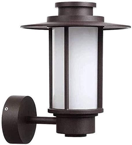 DFR-lumb Luces de Pared industriales, Lámpara de Pared de Pared Lámpara de Pared Retro Forjado al Aire Libre Sconce Villa Balcón Lámpara de Pared Patio de jardín (sin Bulbo) Lámparas de Pared