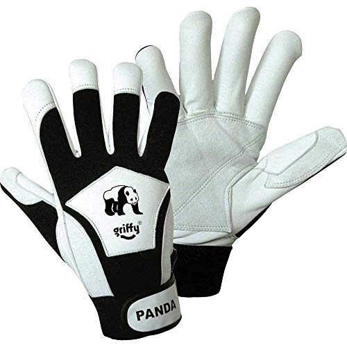 L+D Griffy Panda 1730 Nappaleder Montagehandschuh Größe (Handschuhe): 8, M EN 388 CAT II 1 Paar