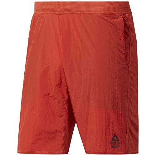 Reebok Herren Cf Hybrid Short - Knit Woven Kurze Hose, Legacy red, 2XL