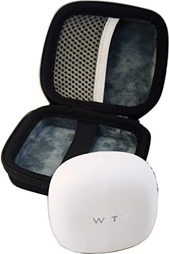Suw Hard Storage Travel Case Bag Fit for Timekettle M2/WT2 Language Translator Earbuds True Wireless Earbuds