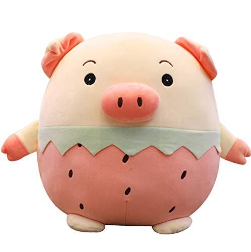 LCCYJ Ananas-Erdbeere Plüsch Spielzeug Kuschelig Schwein Stofftiere Geburtstag (25cm-45cm),A,35cm