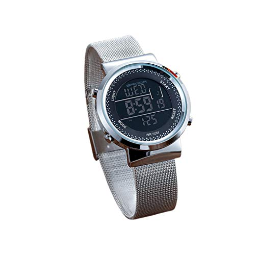 Moda Moda Moda LED Pareja Electrónico Reloj de Pulsera Unisex Digital Relojes Hombres Mujeres Lujo Deportes Impermeable Reloj