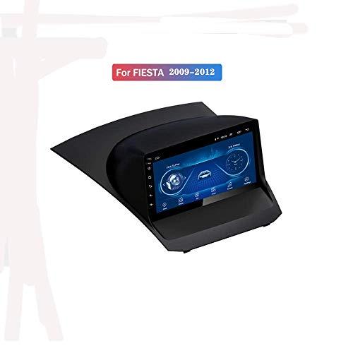Hahaiyu Radio autoradio Android 8.1 da 9 Pollici MP5 Player Navigator per Ford Fiesta (2009-2012), di GPS dello Schermo 2.5D Full Touch, Bluetooth, WiFi, SWC, Specchio Link (1G + 16G)