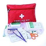 Fliyeong Botiqun de Primeros Auxilios: Compacto para emergencias en el hogar, Aire Libre, automvil,...