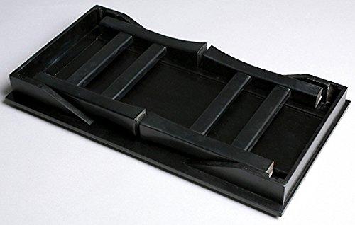 オスマック オスマック 文机 供養台 供物台 折りたたみ ブラック 幅45cm 便利机 桐 SDX-450BK