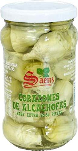 Camporel Corazones de Alcachofa Baby-Artischocken (3 x 175 g)