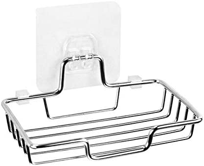 Stainless Steel Soap Dish for Shower Mou sale Wall Spring new work Sponge Holder Tray
