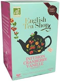 English Tea Shop Teas - 20 Bags (Cranberry Vanilla Delight)