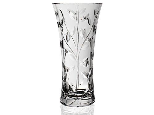 Rcr Laurus Round Vase, Glass, Transparent, 25 cm