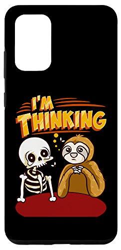 Galaxy S20+ Waiting Skeleton Thinking Meme Dead Case