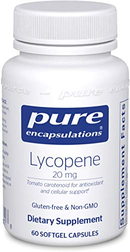 Pure Encapsulations - Lycopene 20 mg - Dietary Supplement for Prostate, Cellular and Macular Support - 60 Softgel Capsules