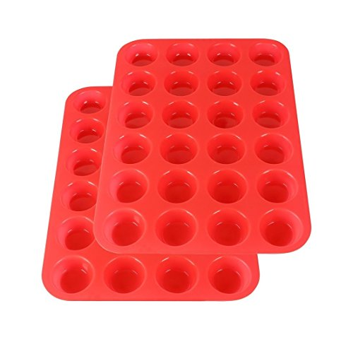 2Packs Mini Muffin Pan Silicone