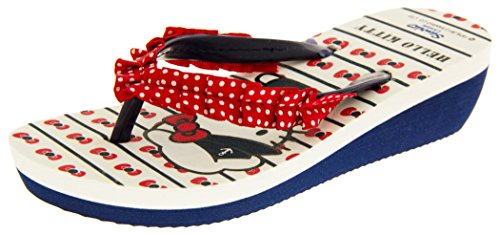 Hello Kitty Filles Sandales EU 30 Rouge