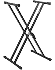 Tiger Keyboard Stand Staan Full Size Zwart