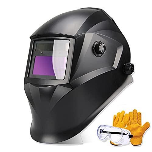 """Casco De Soldadura 3.94 """"x2.87"""", Máscara Facial Protectora Para Soldador Con Oscurecimiento Automático True Colour Lift, Sensor De 4 Arcos, Sombra Ancha Variable (3,4-8,9-13), Para Máscara De Soldadur"""