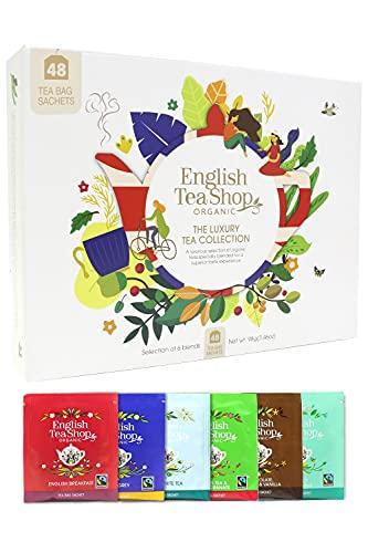 English Tea Shop, The Organic Luxury Tea Gift Collection, 48 Tea Bags, 6...