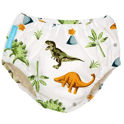 Charlie Banana Swim Nappy & Training Pant 2in1 (Dinosaurs, Large - 15-24m)