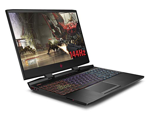 HP OMEN 15-dc1044na 15.6 Inch FHD 144HZ Gaming Laptop, Intel Core i7-9750H, 16 GB RAM, 512 GB SSD, NVIDIA GeForce RTX 2060 (6 GB Dedicated) Graphics, Windows 10 Home - Black