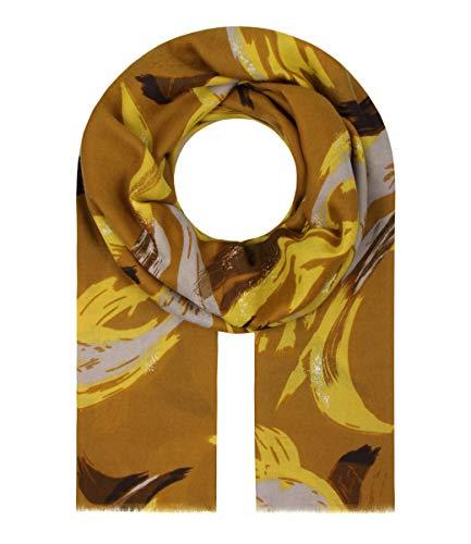 Majea Halstücher Damen Tuch Kopftuch Halstuch Schal Damen-Schal Tücher Damen Stola (senfgelb 45)