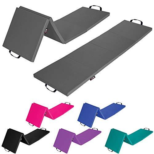 Xn8 4 Folding Gymnastics Mats Non Slip Exercise-Yoga Mat 6cm Thick...
