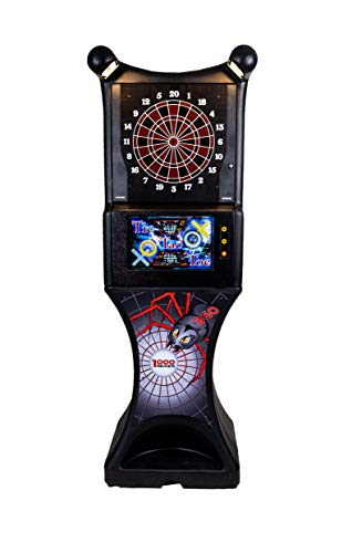 Spider 360 1000 Series, Electronic Dartboard, Home Commercial Grade Dart Board, Standing Electronic Soft tip Dartboard Home Legacy Dart Board