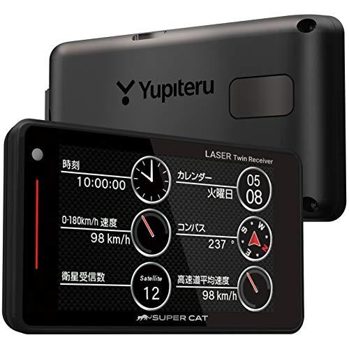 ユピテル レーザー光対応レーダー探知機 SUPER CAT WR70 3.6型液晶タッチパネル 新型移動オービス対応 取締データ5万6千件収録 誤警報防止 リアルタイム警報 無線LAN機能対応(OP) フルマップ受信