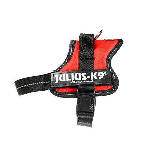 Julius-K9, 162RM, K9 Powergeschirr, Hundegeschirr, Größe: S/Mini, rot