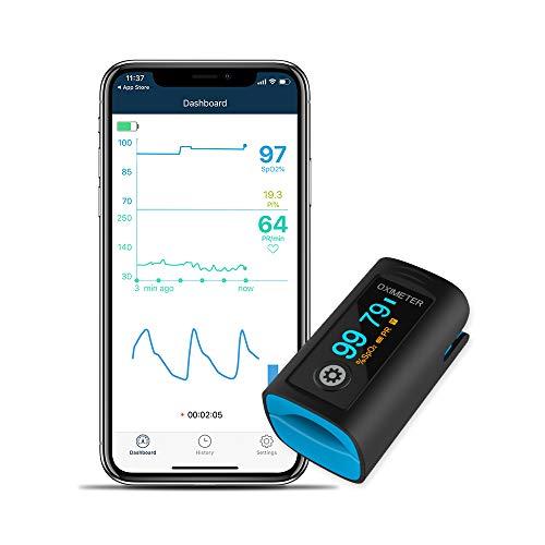 Pulsioximetro de dedo con App
