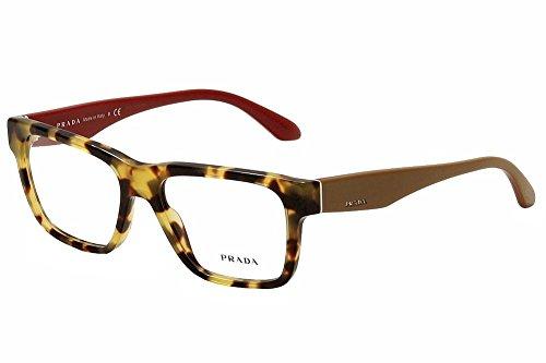 Prada Für Frau 16r Light Tortoise Kunststoffgestell Brillen, 51mm