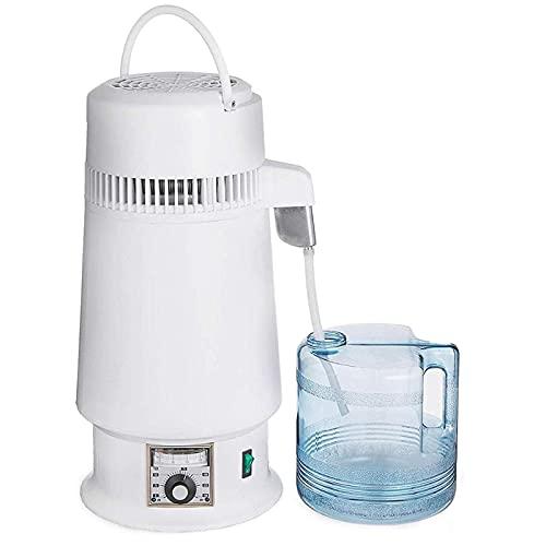 Destilador de agua Encimera 750W, contenedor sin BPA 4L, control digital máquina de agua de destilación con mango estilo de actualización profesional