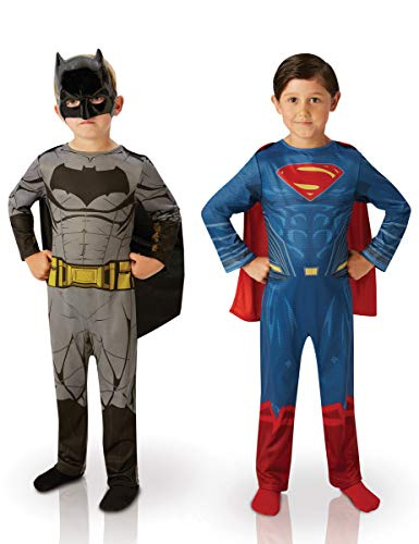 Rubie's-déguisement officiel - Dawn of Justice- Bi Pack Batman V Superman Dawn of Justice - Taille M- I-620433M
