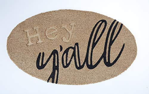 Hey Yall Coir Door MAT