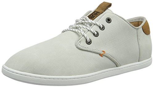 Hub Herren Chuckonian N33 Scratched Low-Top Sneaker, Weiß (White), 42 EU
