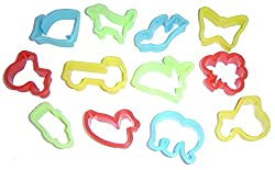 Play Dough (Play-Doh) Biscuit Cutters Pack of 12