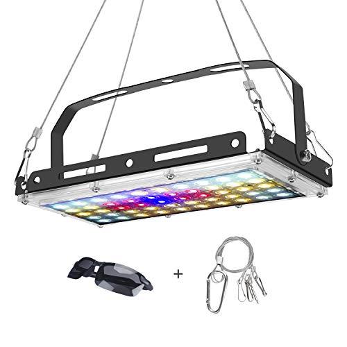 BOSYTRO® led grow light, Lampada di Coltivazione LED 150W lampada led per pianta Spettro Completo per Indoor Piante Giardino per Verdure e Fiori