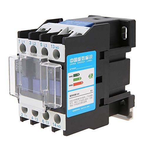 Haokaini CJX2-1210 High Sensitivity Industrial Electric AC Contactor 220V 12A for Power Distribution 220V 12A CJX2-1210