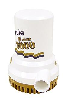 Rule 09 2000 GPH Gold Series Bilge Pump