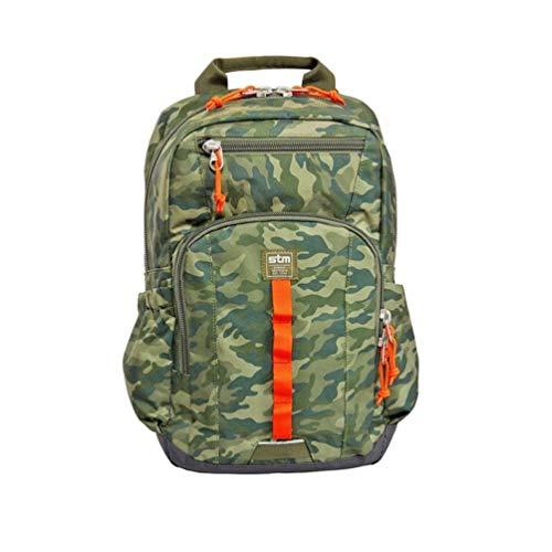 "STM Bags Velocity Trestle - Mochila para Ordenador portátil de 13"", Color Camo Verde"